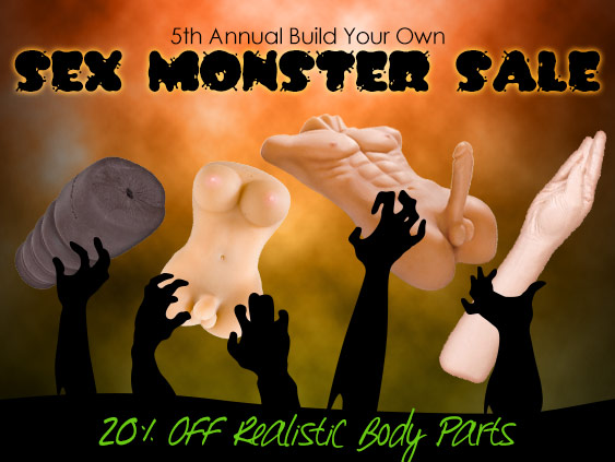 Shop realistic parts sex toys on sale at 20% off.