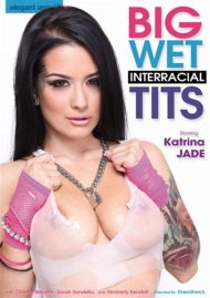 Big Wet Interracial Tits DVD Image from Elegant Angel.