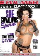 She Swallows Sperm Porn Video