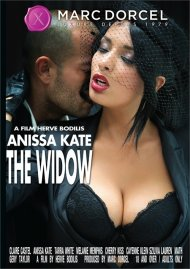 Anissa Kate, The Widow DVD Image from Marc Dorcel.