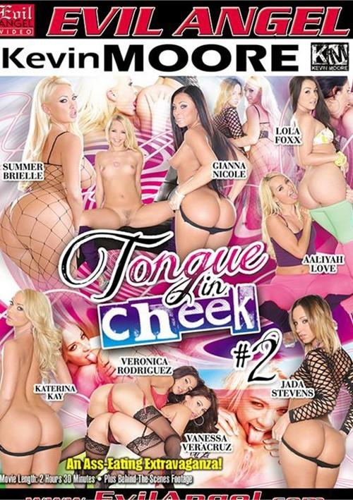 Tongue in cheek porn