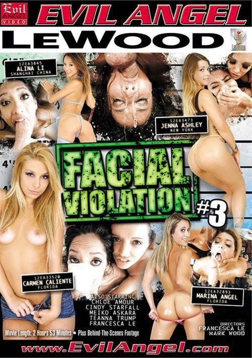 ��������� ���� #3 / Facial Violation #3 (2014) DVDRip