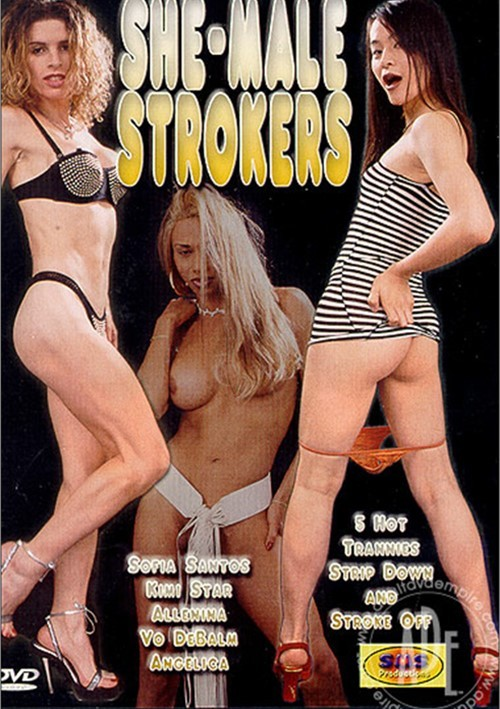 She-Male Strokers DVD Porn Movie Image