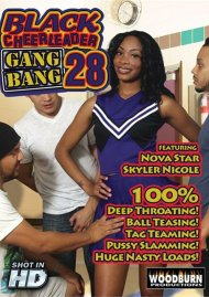Black Cheerleader Gang Bang 28 Porn Movie