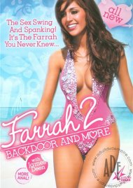 Farrah 2: Backdoor And More DVD Image