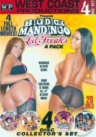 Big Dick Mandingo Lil Freaks 4-Pack Porn Movie