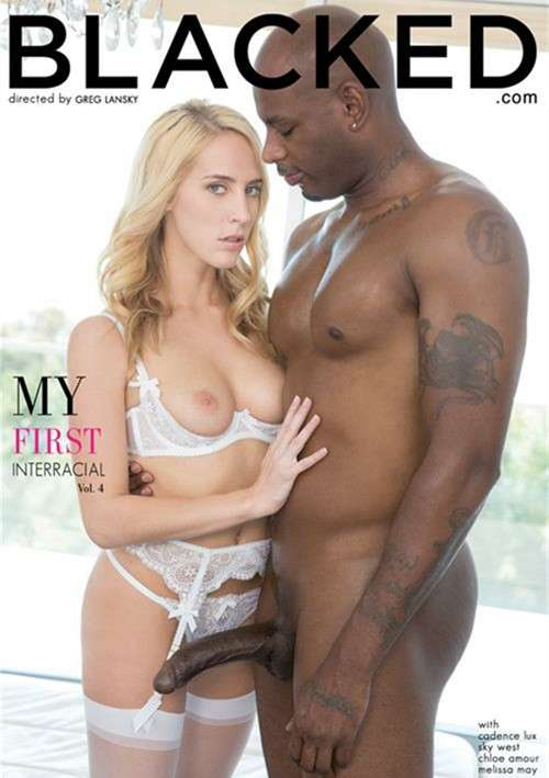My First Interracial Vol. 4 DVD Image from Blacked.