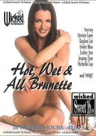 Hot, Wet & All Brunette Porn Movie