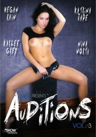 Auditions Vol. 3 DVD Image from Skow for Girlfriends Films.