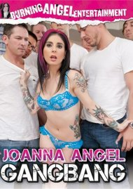 Joanna Angel Gangbang DVD Image from Burning Angel Entertainment.
