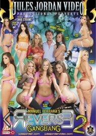 Manuel Ferrara's Reverse Gangbang 2 DVD Image from Jules Jordan Video.
