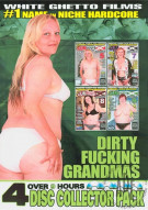 Dirty Fucking Grandmas 4 Disc Collector Pack Porn Movie