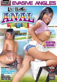 Lil' Black Anal Spinners DVD Image from Evasive Angles.