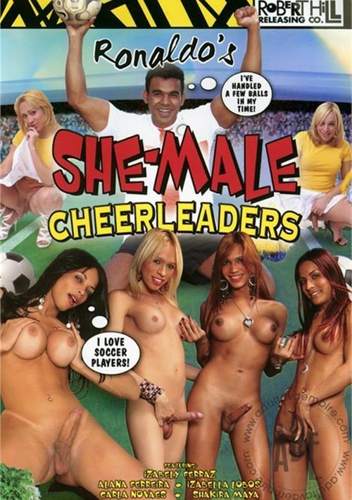 Ronaldos She-Male Cheerleaders