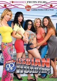 Lesbian Roadtrips HD Porn Video Image from Forbidden Fruits Films.