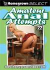 Amateur Anal Attempts 22 Porn Movie