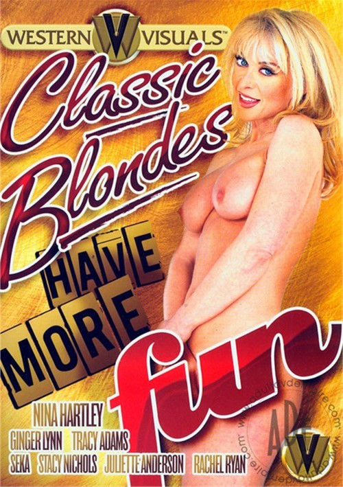 Classic Blondes Have More Fun DVD Porn Movie Image