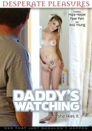 Daddy's Watching HD Porn Video Image from Desperate Pleasures.
