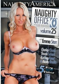 Naughty Office Vol. 25 DVD Image from Naughty America.