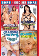 Granny Likes Pussy (4-Pack) Porn Movie