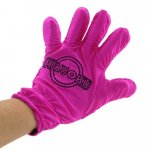 Fukuoku: 5 Finger Left Hand Massage Glove - Pink Sex Toy
