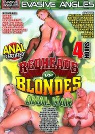 Redheads Vs. Blondes: Anal War Porn Video