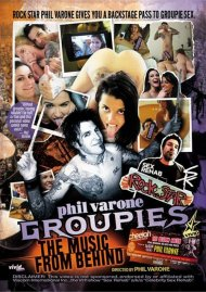 Phil Varone's Groupies: The Music From Behind DVD Image from Vivid.