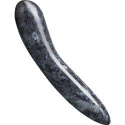 D1 Larvikite Stone Dildo – Blue Pearl image.