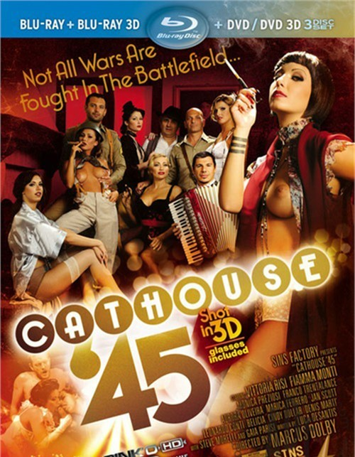 Cathouse 45 in 3D (Blu-ray + Blu-ray 3D + DVD/DVD 3D)