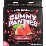 Edible Crotchless Gummy Panties - Watermelon Sex Toy