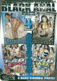 Black Anal Vol. 1 (4 Pack) Porn Movie