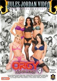 Orgy Masters #4 DVD Image from Jules Jordan Video.