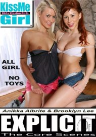 KissMe Girl Explicit: Anikka Albrite & Brooklyn Lee Porn Video