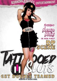 Watch Tattooed Sluts Get Double Teamed Porn Video from Burning Angel Entertainment!