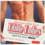 Sensuous With Taste Male Edible Undies - Forbidden Fruit Sex Toy