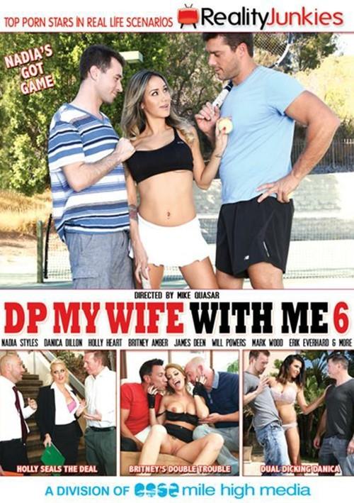 Двойное Проникновение В Мою Жену С Моим Участием #6 / DP My Wife With Me #6 (2015) DVDRip