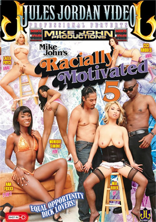 Racially Motivated 5 DVD Porn Movie Image