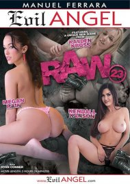 Raw 23 DVD Image from Evil Angel.