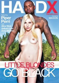 Little Blondes Go Black DVD Image from HardX.