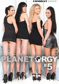 Planet Orgy #5 DVD Image from Combat Zone.