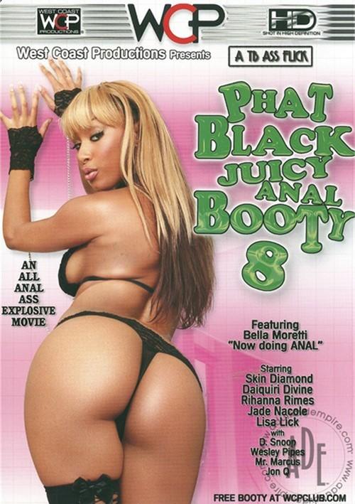 Phat Black Juicy Anal Booty 8