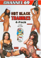 Hot Black Trannies 4-Pack Porn Movie