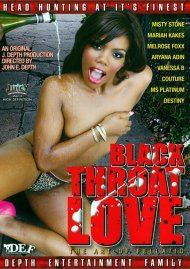 Black Throat Love Porn Movie