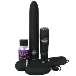 Black Magic Velvet Touch Pleasure Kit Sex Toy