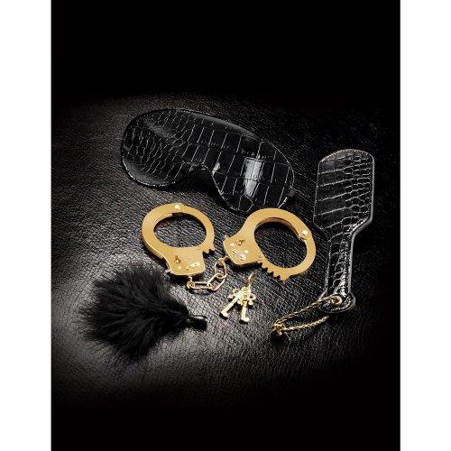 Fetish Fantasy Beginner's Fantasy Bondage Kit - Black and Gold Image