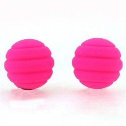 Maia: Twistty Silicone Balls - Pink Sex Toy