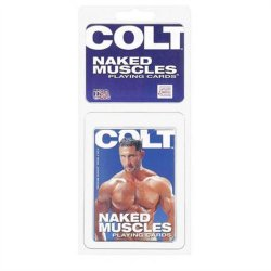 Colt Naked Muscles Playing Cards Sex Toy