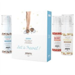 Exsens of Paris - Let's Travel Massage Oil Set image.