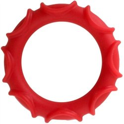 Adonis Silicone Ring: Atlas - Red Sex Toy