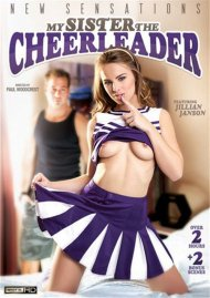 DMy Sister The Cheerleader DVD Image from New Sensations.